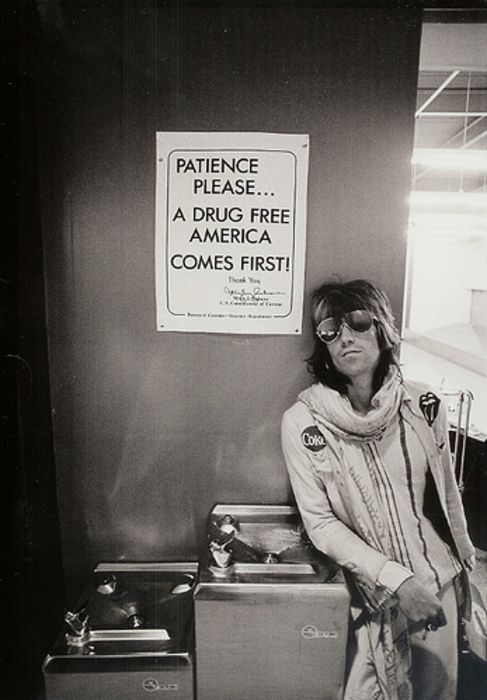 Keith Richards, summer of 1971.