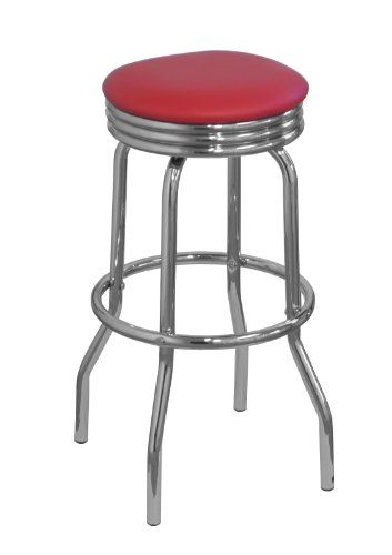 df sales lamboro retro bar stool red df sales ltd
