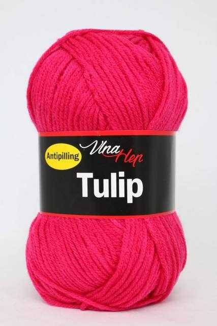 Příze Tulip 4305 tm. růžová neonová