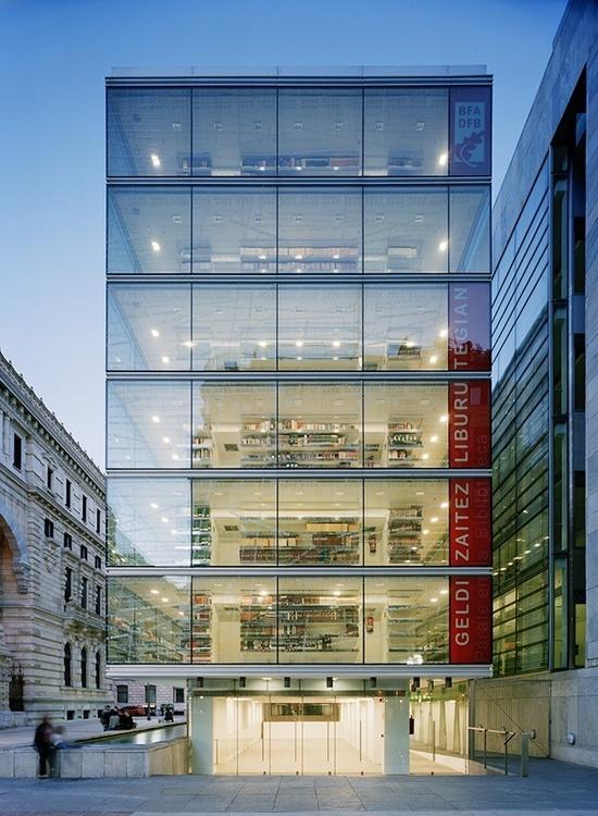 Library - Bilbao, Spain