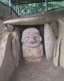 Patrimonio UNESCO, lugar mágico y sagrado hacia el sur de Colombia. SAN AGUSTÍN