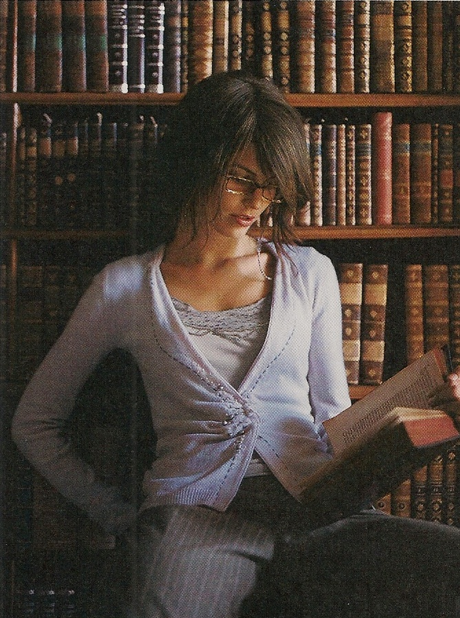Library-Themed Catalogue Shoot, Anthropologie Autumn 2004 - 4.                                                                                                                                                     More