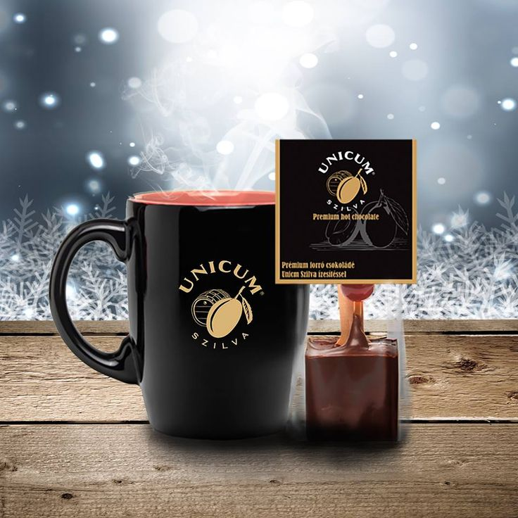 Premium hot chocolate with Zwack Unicum Plum