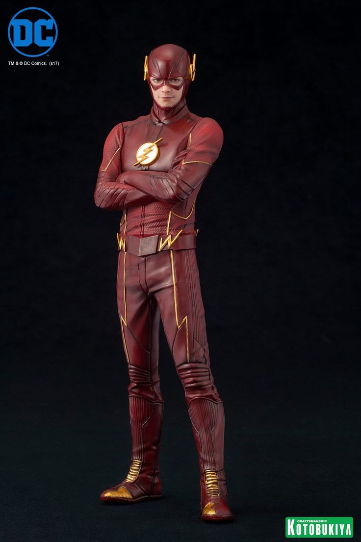 Kotobukiya expands their DC line with Barry Allen from the Flash TV series. This 1/10 scale statue features two head sculpts and an authentic costume.