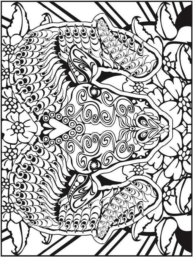 welcome to dover publications adult coloring pagesfree