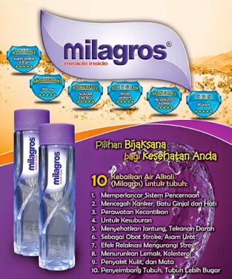 Khasiat Air Milagros   Agen Besar Milagros Bekasi http://www.airterapikesehatanow-mret.com/2017/03/khasiat-air-milagros-agen-besar.html