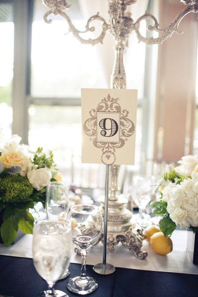 161 Best Wedding Table Numbers Images On Pinterest