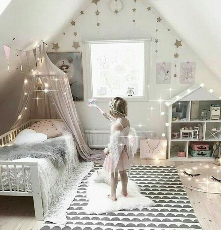 Dormitorio de niña