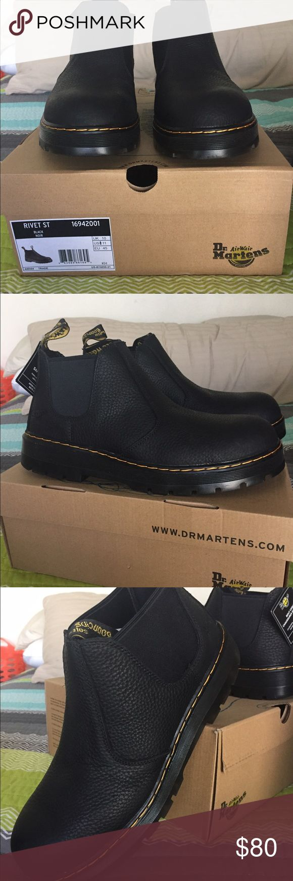 Dr. Martens Men's Steel Toe Boots Size 11 Brand New, Never Worn. Dr. Martens Shoes Boots