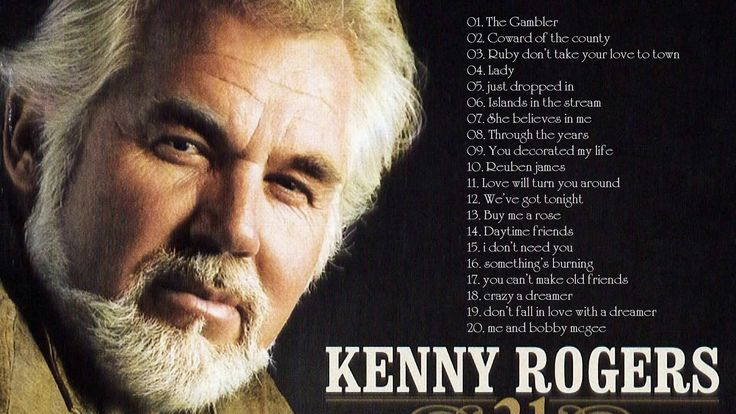 Kenny Rogers Greatest Hits Full Cover 2017 - Best Of The Kenny Rogers