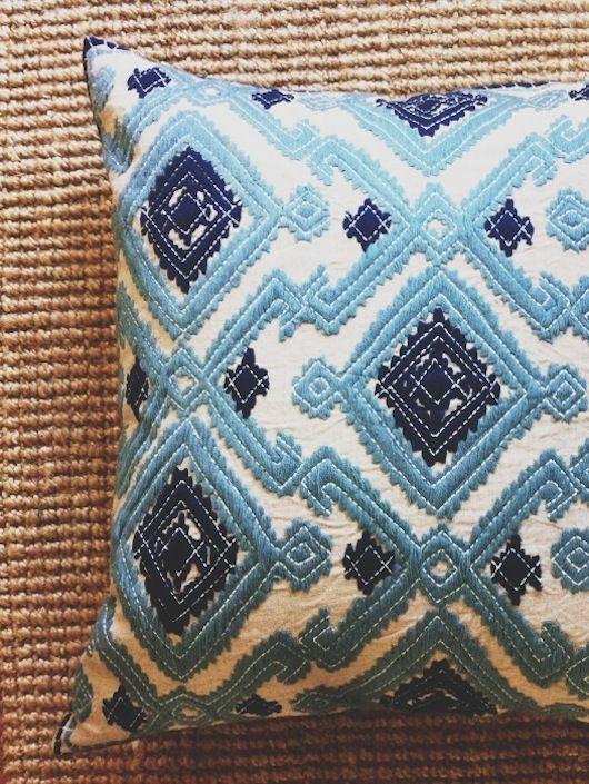 Blue Pillow // Sacramento Street