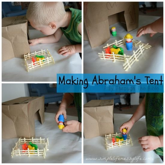 Abraham and Sarah - Play Through The Bible - Toddler Bible Lessons…