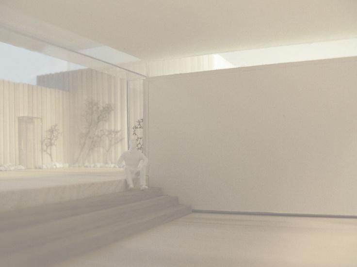 4'th semester project. Model of atrium.