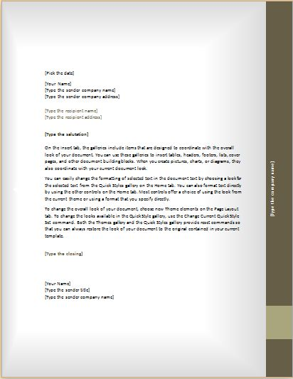 The 25+ Best Business Letter Format Ideas On Pinterest | Letter