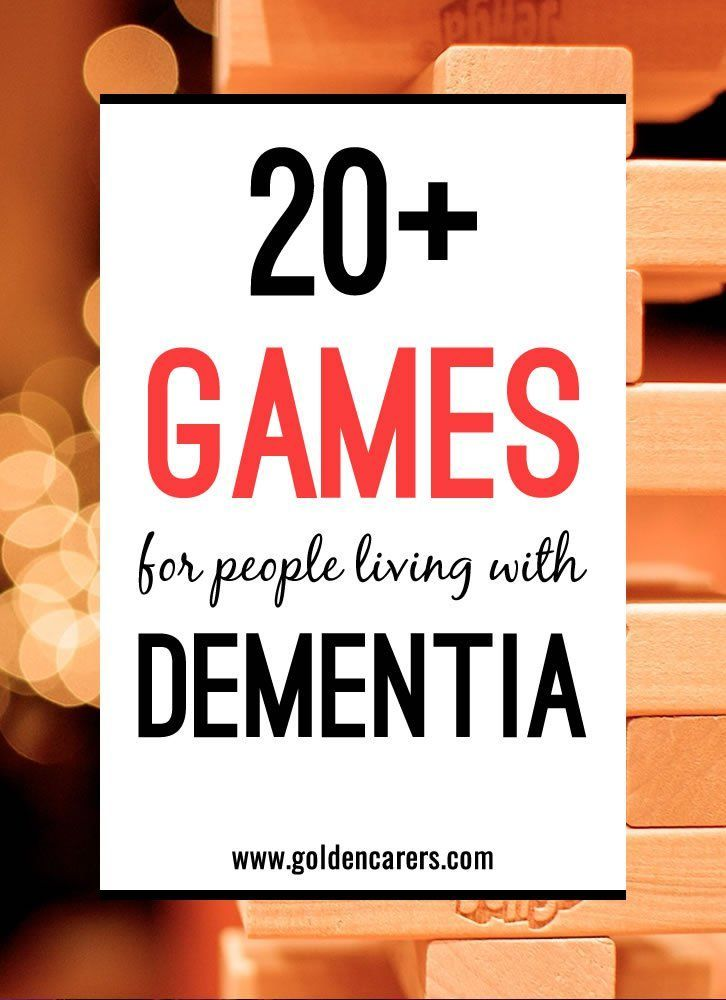 Adapting and modifying games for seniors is necessary for all sorts of different reasons. As well as for those living with dementia, games need to be modified for those who use wheelchairs and those with impaired vision or sensory loss.