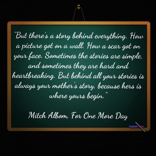 for one more day mitch albom essay Emmy award-winner michael imperioli and academy award-winner ellen  burstyn headline this made for television adaptation of author and.