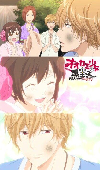 Kyouya's family and Erika ♡ Ookami shoujo to kuro ouji