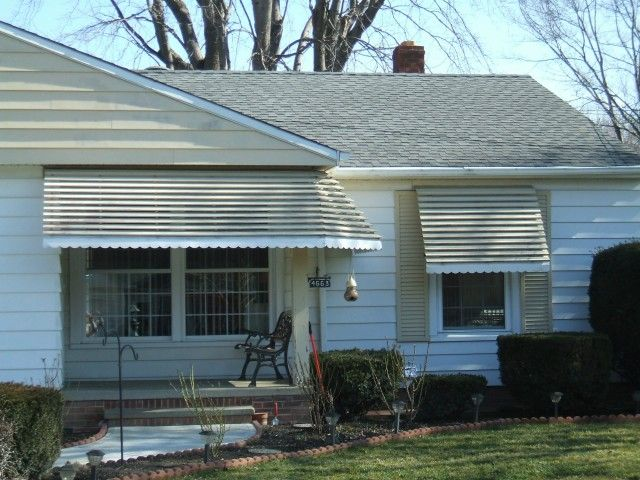 Fairview Home Improvement Porch And Window Awning Project In The Cleveland Ohio Area