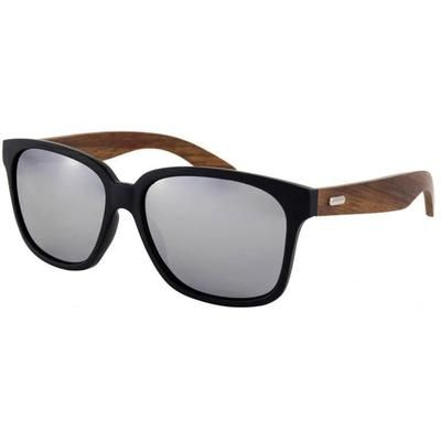 Ξύλινα Γυαλιά Ηλίου Bamboo Wayfarer Karen-SILVER-e-chap