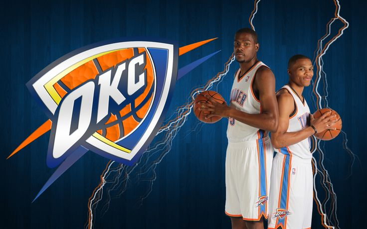 Kevin Durant And Russell Westbrook Wallpaper | Durant and Westbrook OKC Thunder Wallpaper Durant and Westbrook OKC ...