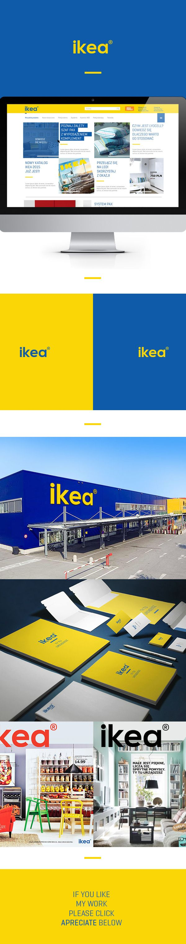 Ikea - Redesign Concept on Behance