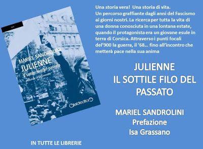 Mariel Sandrolini: recensione di Julienne Il sottile filo del passato...