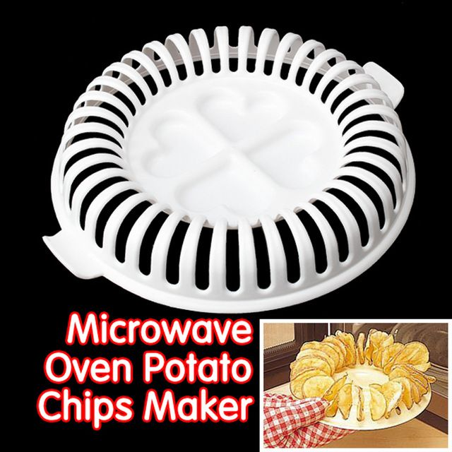 Good price Home DIY Low Calories Microwave Oven Fat Free Potato Crisps Fried Chips Maker Baking & Pastry Tools Chips Rack Kitchen Tools just only $1.76 with free shipping worldwide  #dinnerware Plese click on picture to see our special price for you
