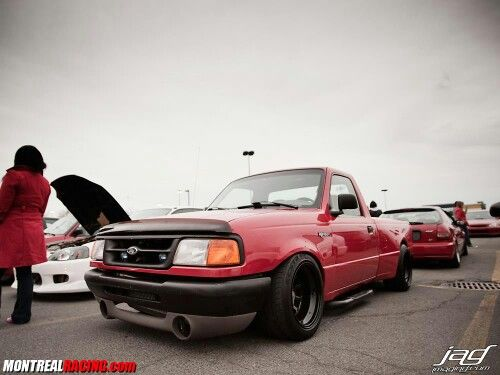 Ford Ranger Jdm : Dam this is so clean ford ranger stanced truck