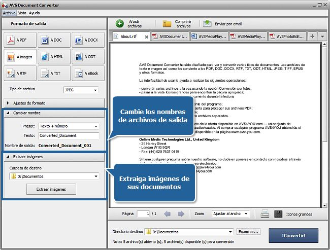 AVS Document Converter is a latest software, compatible with the latest window operating system, which has been developed to convert documents of all types,