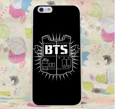BTS Bangstan Boy Full Black Logo Inspired iPhone 5 6 7 Plus Cover  #BTS #Bangstan #Boy #Full #Black #Logo #Inspired #iPhone5 #6 #7Plus #Cover