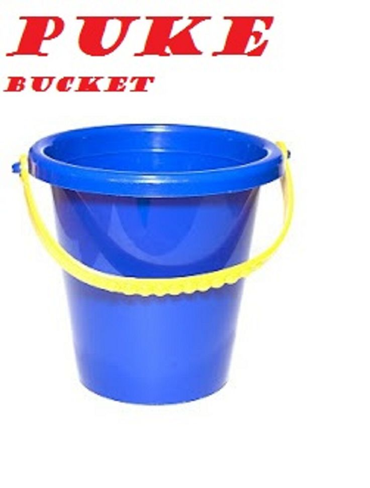 the puke bucket logo