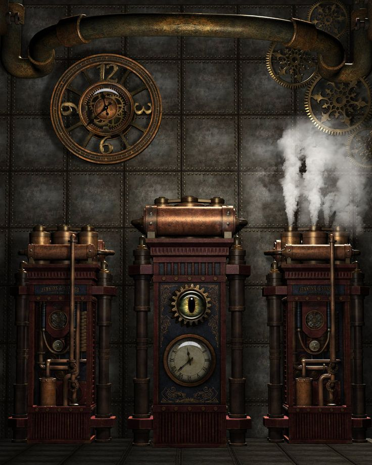 Steampunk Background 4 by Kachinadoll.deviantart.com on @DeviantArt