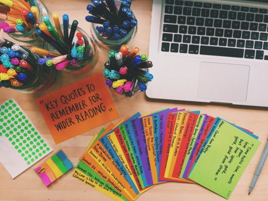 Revise or Die: Spent my first session of the day making these flashcards with key poetry quotes on for my English exam.