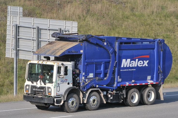 Malex 631110 Mack twin steer front loader garbage truck wi… | Flickr