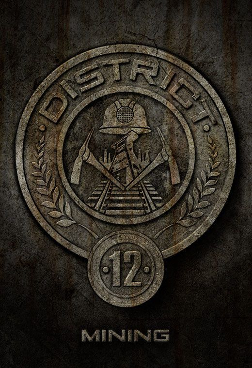 """""""District 12 was one of the poorest, most ridiculed districts in the nation of Panem. The Appalachian Mountains district specialized in coal mining."""" - The Hunger Games trilogy <3"""