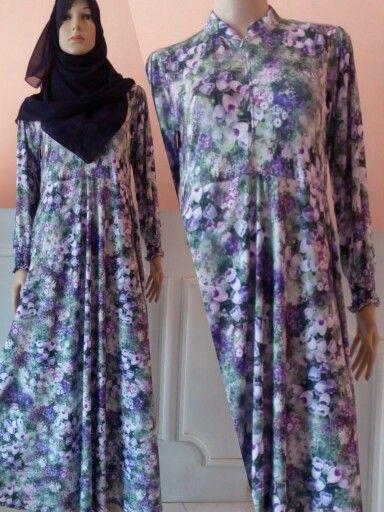 Flowery Basic Dress 04  Idr. 185.000 (dress only) Material : spandex korea Cutting : umbrella (wide dress) Size : S M L XL  Contact for order : Whatsapp : 082242795150 / 082300009229  Bbm : 2bf88c4a / 5219BEB8 / 5206AC0E / 2B1AAB15  Line : aqilacreation  #moslemfashion #abaya #abiye #gamis #hijab #hijabsyari #basicdress #moslemdress #longdress #khimar #jilbab