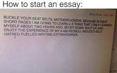 This is literally what teachers see when they read between the lines of essays