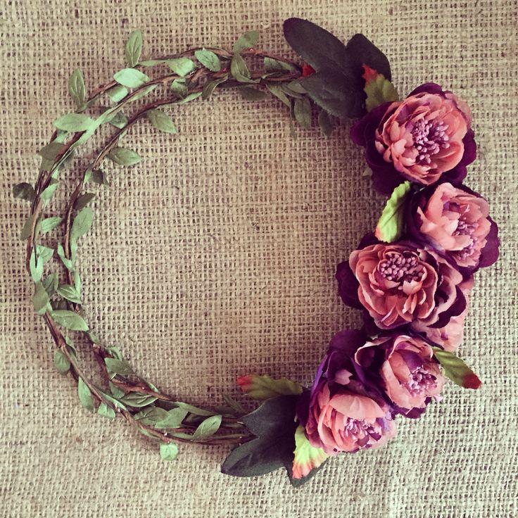 Flowerband / çiçekli gelin tacı