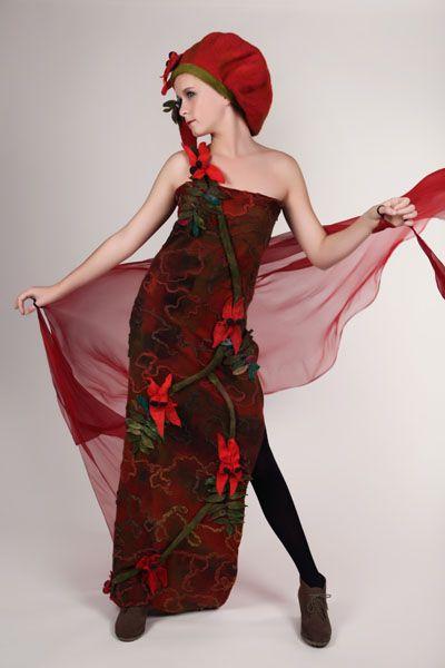 Lorraine McArthur, The Blood Flower 1 . Photographer Michael Kelly, Star Creations