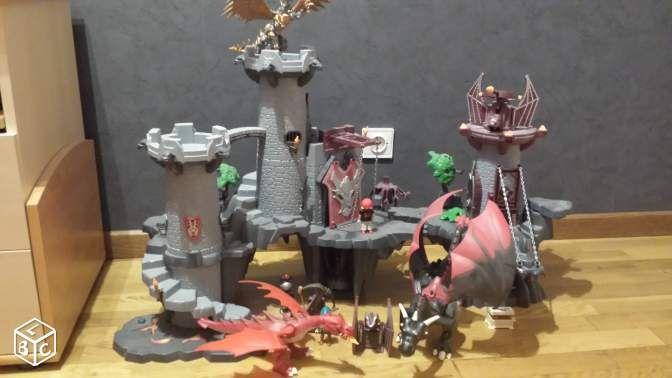 Chateau dragon playmobil 60€