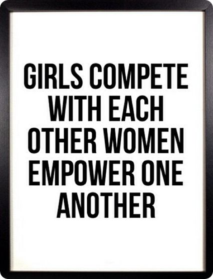 Who's your role model? I know I could easily name 10 women who I'd like to follow in their footsteps!