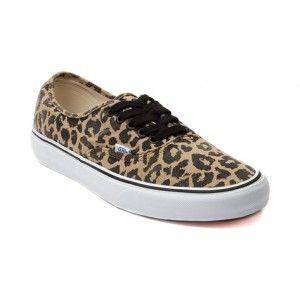 Vans Auténticas zapatillas de skate leopardo Hombre/Mujer negro