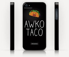 """iPhone Case """"Awko Taco""""...LMAO @Niall Dunican Horan saw this and thought of ya!!!"""