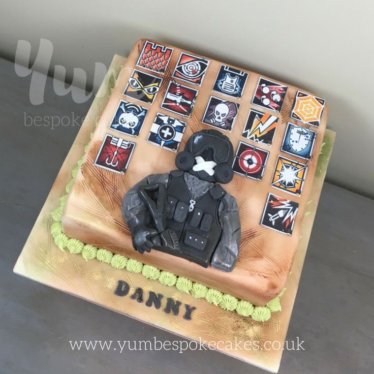 Rainbow Six Siege Cake Kidtastic In 2019 14th Birthday