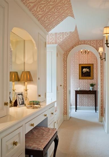118 best beautiful interiors meg braff images on for Bathroom designs with dressing area