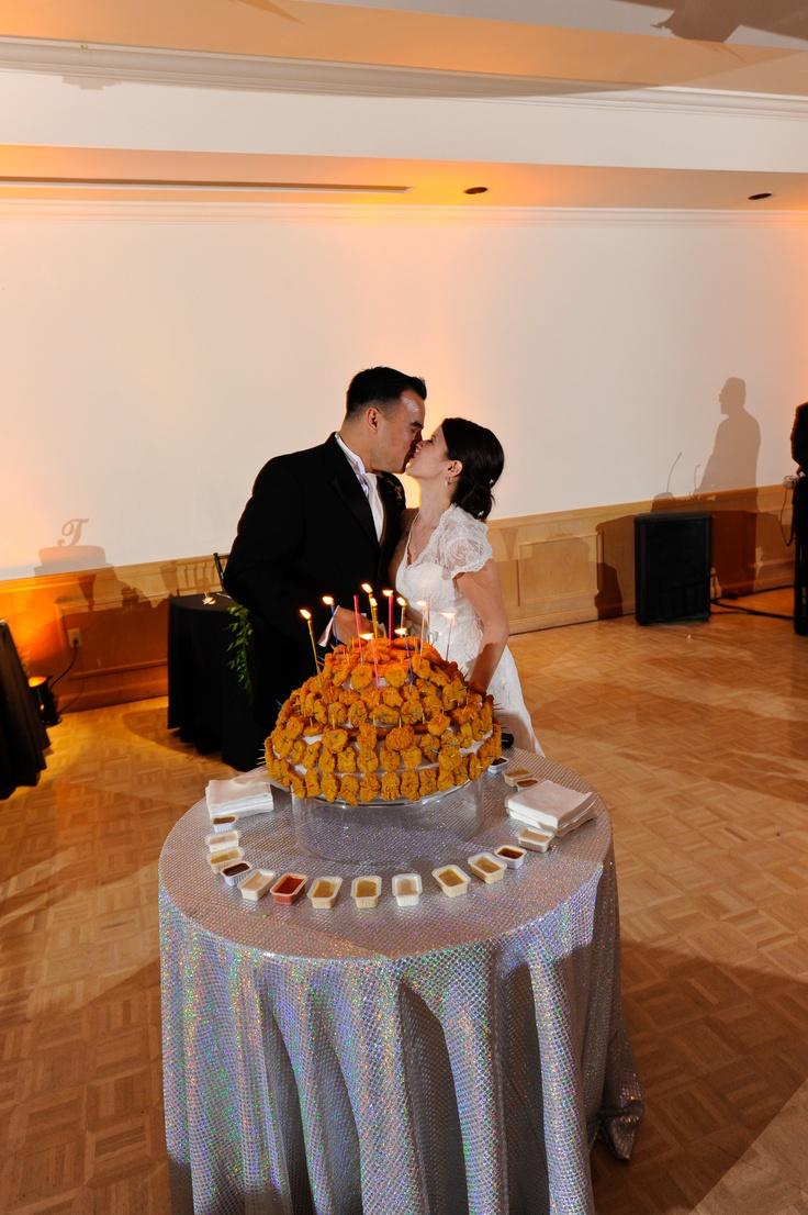 Chicken Nugget Grooms Cake Weddings Pinterest A