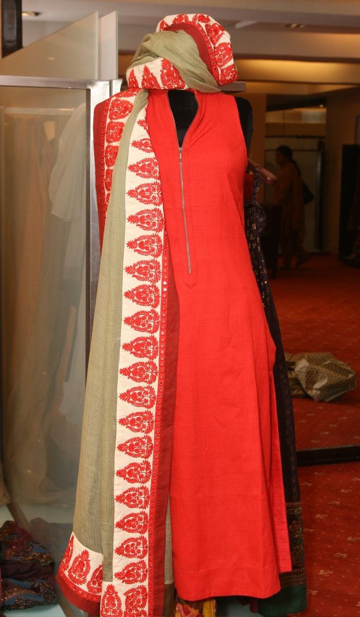 Sabyasachi unveiled his new summer prêt collection at Aza, Mumbai.