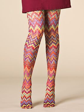 Crazy Support Tights - Compression tights - Patterned women's tights | BodyBelle