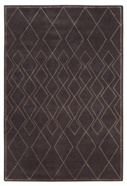 Deco Diamond Dark by the rug company