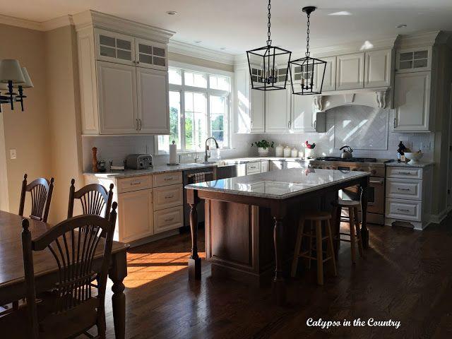 Kitchen Reveal - Calypso in the Country blog #whitekitchen #kitchen #kitchenrenovation